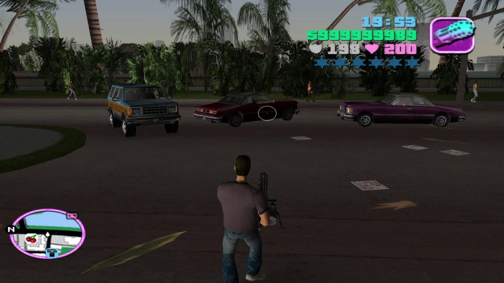 Gameplay Screenshot after completing all missions