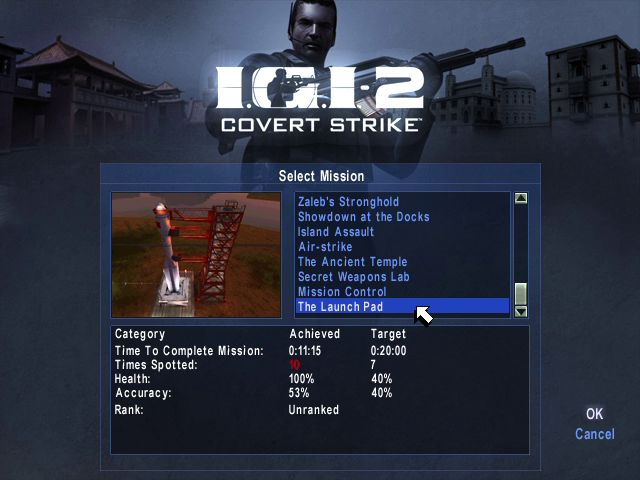 IGI 2 PC Game -All missions unlocked - 100% Savegame (Mission Wise)